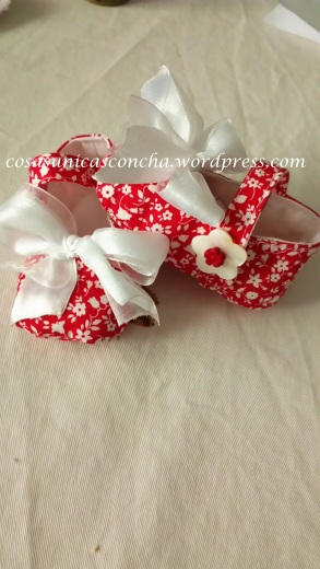 patucos de tela de algodón