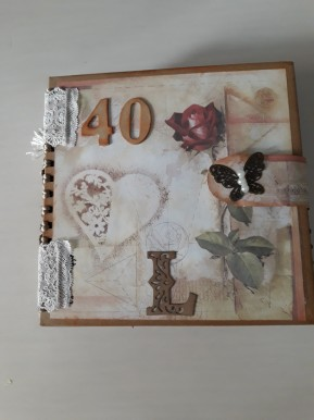Álbum de Scrapbook