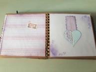 hojas del Álbum de Scrpbook