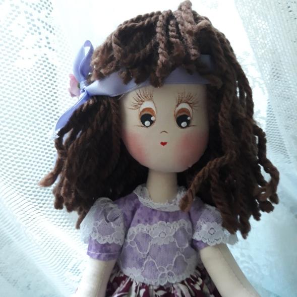 Muñeca de trapo carita linda