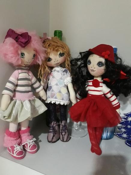 Muñecas de trapo,