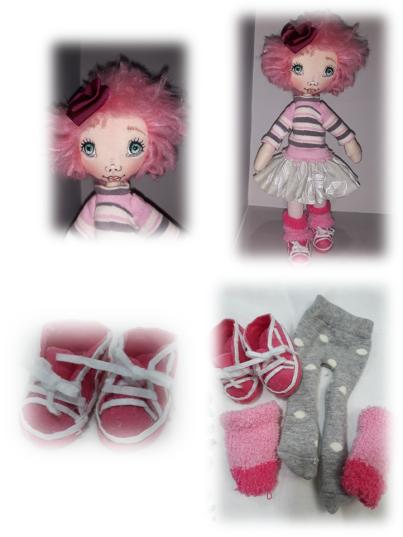 Muñeca rosa deportiva